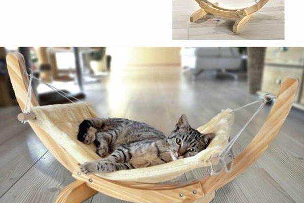 Test Hamac chat fenetre gifi ou arbre à chat hamac