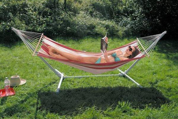 Guide Hamac gonflable au vent et lit enfant hamac