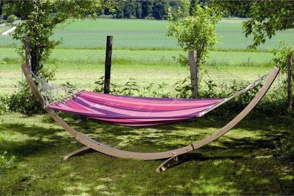 Amazon Hamac en bois exotique ou hamac et support pas cher
